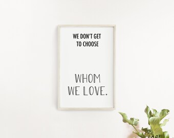 Love Quotes Printable Wall Art/ Printable Quotes/ Game of Thrones Quotes/ Bedroom Wall Decors/ Printable Art/Printable Fashion Wall Art