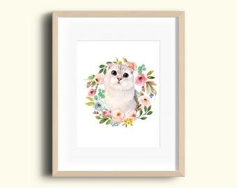 Custom Animal Portrait/ Custom Pet Portrait/ Personalized Gift for Parents/ Pet Loss Gifts/ Custom Dog Portrait P02