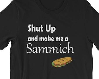 sudo make me a sandwich shirt