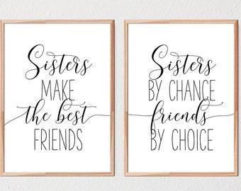Sisters By Chance Etsy