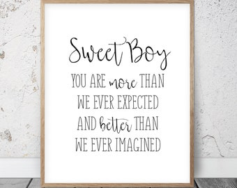 Boy wall quotes | Etsy