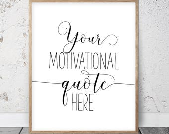 Custom Text Print, Custom Words, Personalized Printable Wall Art, Custom  Calligraphy Print, Your Quote Here, Custom Quote, Custom Poem Print