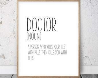 Doctor quotes | Etsy