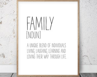 Funny Quotes About Family | Funny Family Quote Etsy
