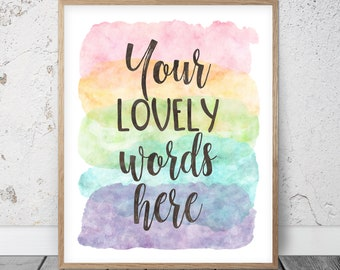 custom printable etsy