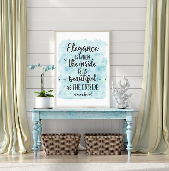coco chanel interior design quotes free