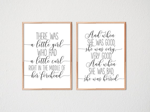 Girl Quotes Wall Art Nursery Prints Girls Room Decor Baby Etsy