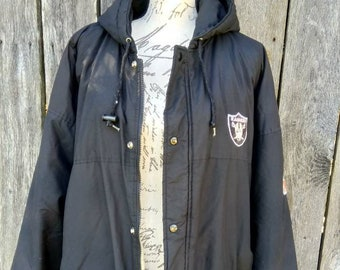 90 s raiders starter jacket football jacket raiders jacket raiders sports  jacket men s sports jacket vintage jacket raiders coat men s coats 73b45bbc1