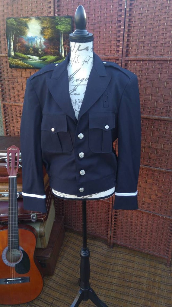 Vintage fechheimer firemans jacket/union made/vint
