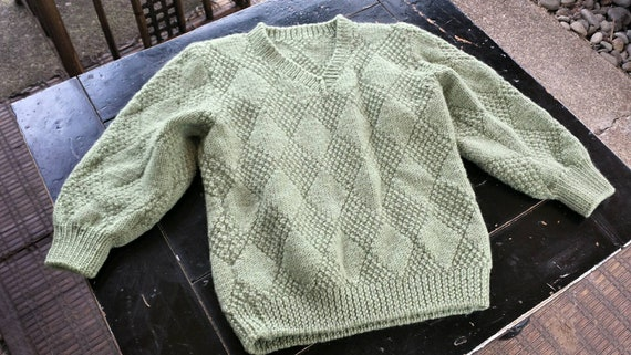 Knitted boys sweater/knitted kids sweater/boys knitted sweater/vintage kids  clothes/boys sweater/vintage boys clothes/knitted sweaters