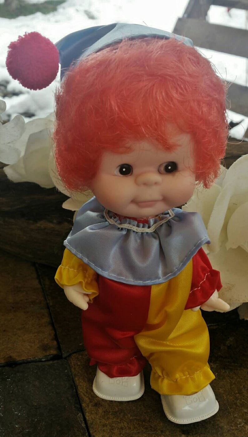 10 Dolls & Bears Dolls Puppensammlung Sammlerpuppe Kinderpuppe Spielzeug Clownpuppe