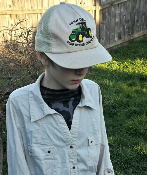 John deere trucker hat/vintage trucker hats/trucke