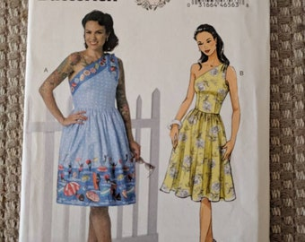 Pin up dress pattern | Etsy