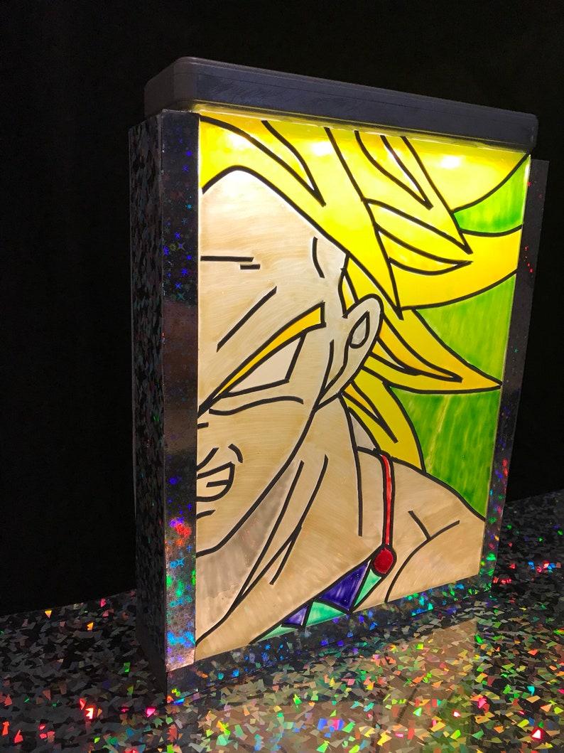 Dragonballz Broly Light box