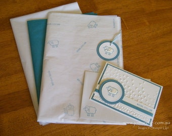 Baby Boy Gift Wrapping Set