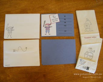 Pirate Party Invitation Pack