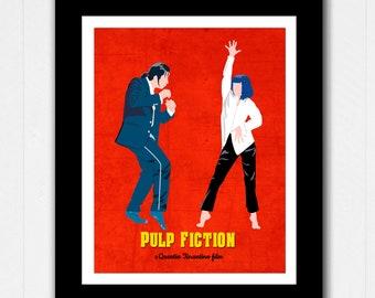 Pulp Fiction Dance Etsy
