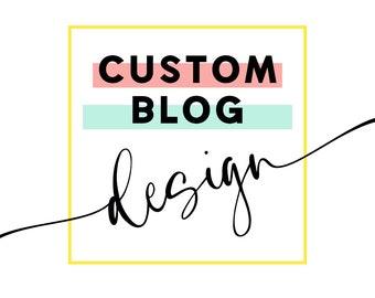 Custom Blog Design - wordpress design - wordpress blog - custom - custom design