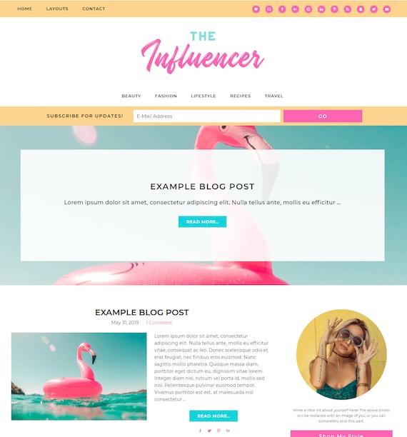 Dating blog thème WordPress