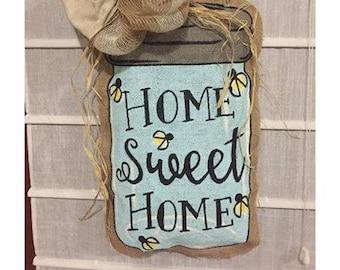 Mason Jar Home Sweet Home