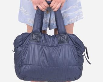 4057a47c4877 CHANEL - Blue Coco Cocoon bag