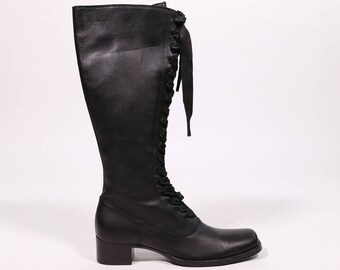cf19cca5127a MIU MIU - Leather boots