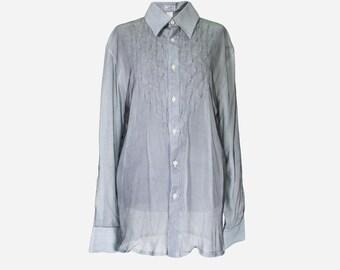 Versace silk shirt   Etsy e606538e5de