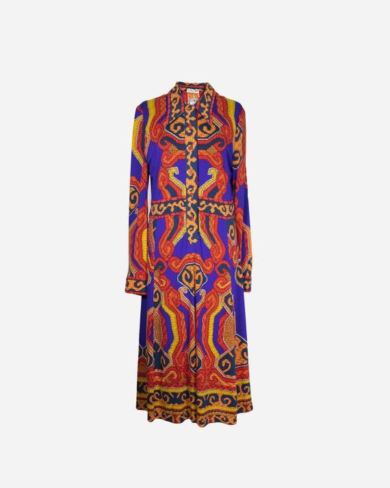 LEONARD - Silk dress