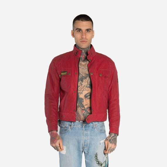 BELSTAFF - Padded leather jacket