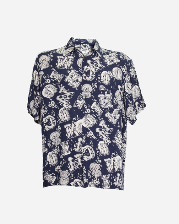MOSCHINO - Viscose shirt