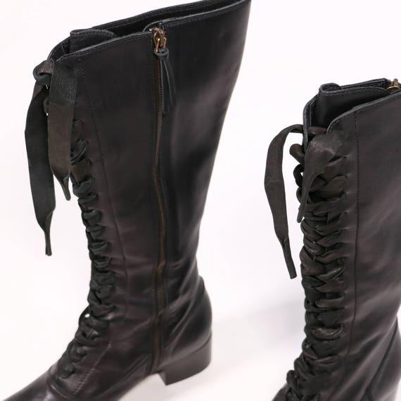 MIU boots MIU MIU Leather MIU xEqT6YwFq