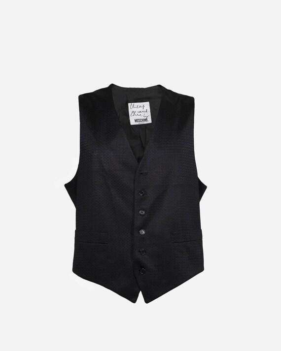 MOSCHINO - Polyester vest