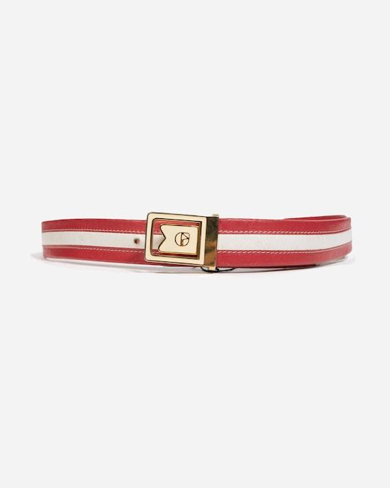 VINTAGE - Leather belt