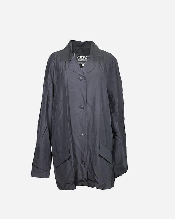 VERSACE - Silk blazer
