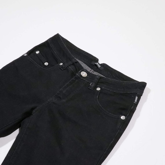 VERSACE - Black denim pants