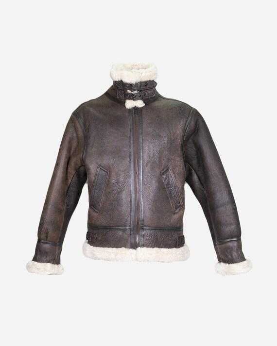 VINTAGE - Sheepskin coat