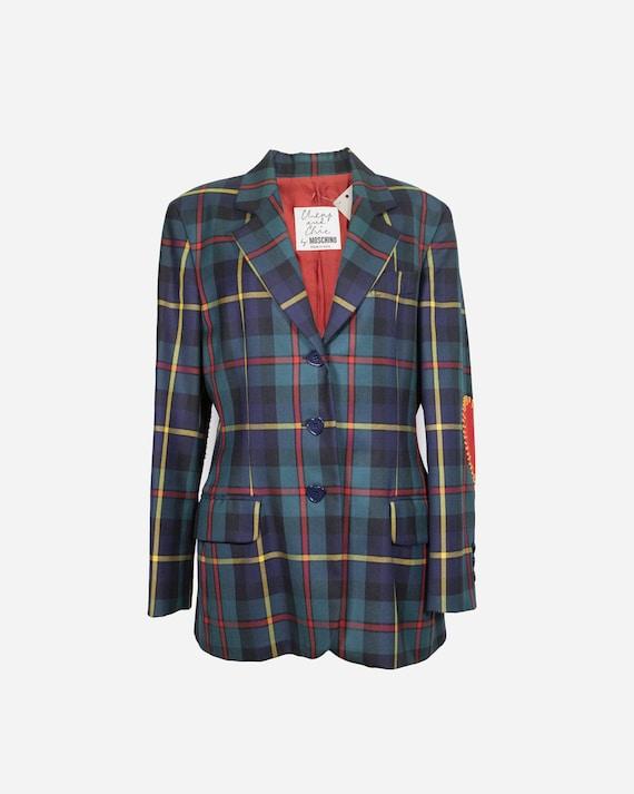 MOSCHINO - Tartan jacket