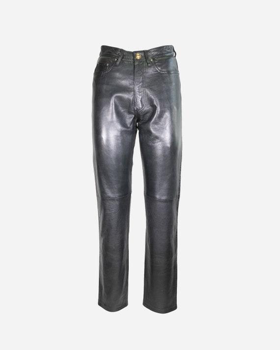MOSCHINO - Leather pants