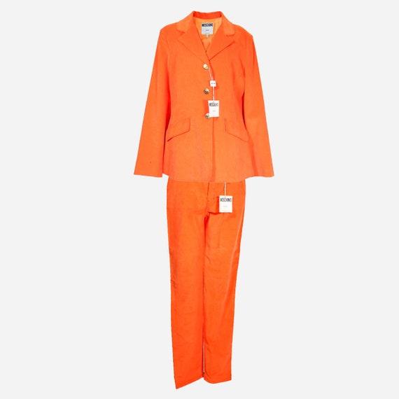 MOSCHINO - Corduroy suit