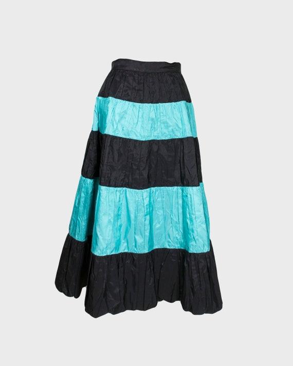 VINTAGE - Acetate 50s skirt