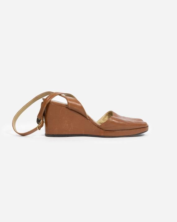 YVES SAINT LAURENT - leather shoes