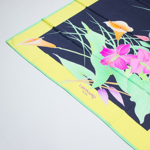 LEONARD - Silk scarf