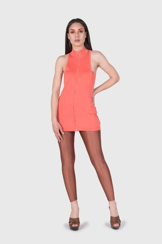 MONTANA - Minidress with zip
