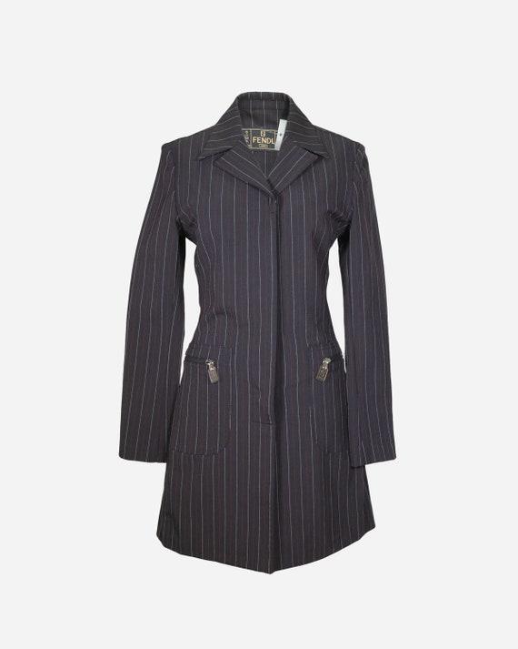 FENDI - Striped dress