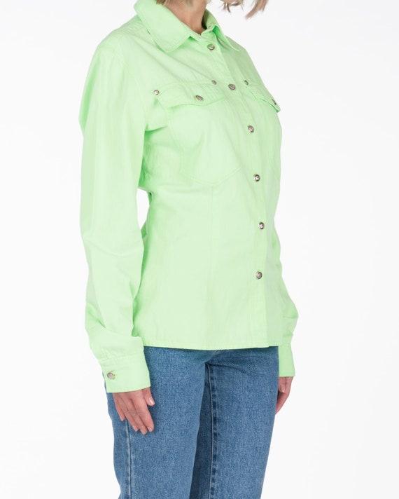 VERSACE - Green shirt