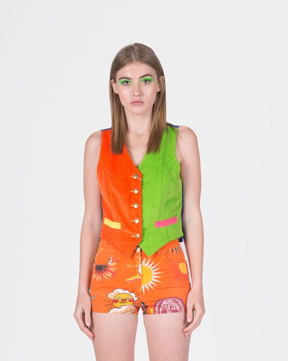 MOSCHINO - Colorful vest