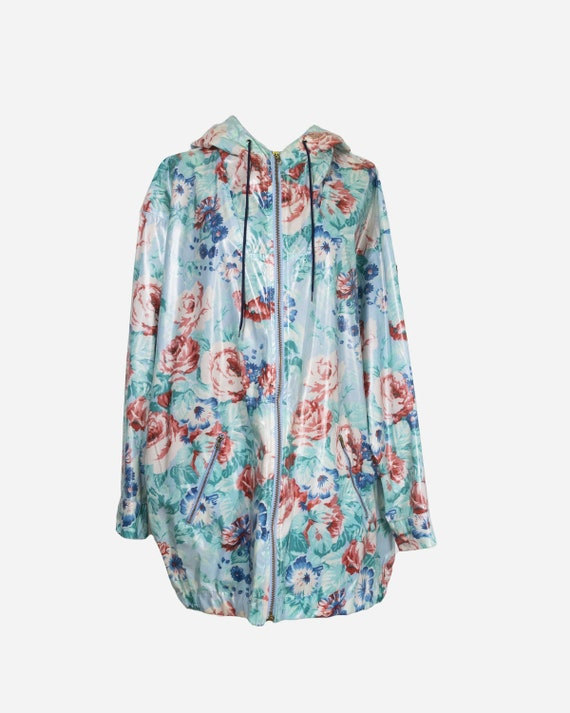 KENZO - Floral raincoat