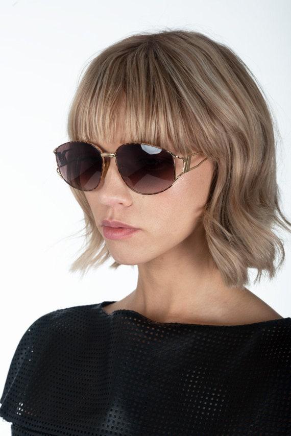 YVES SAINT LAURENT - Spotted sunglasses