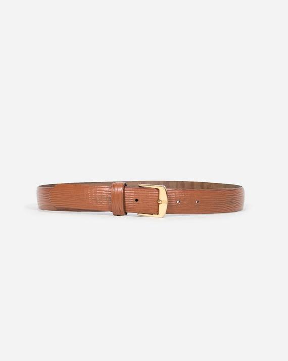 FENDI - Leather belt