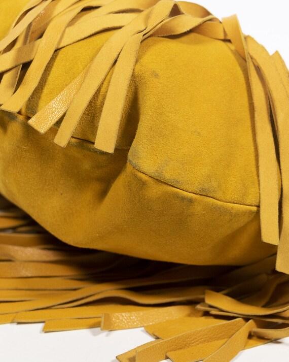 YVES SAINT LAURENT - Fringed bag - image 6